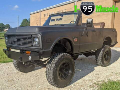 1969 Chevrolet Blazer for sale at I-95 Muscle in Hope Mills NC