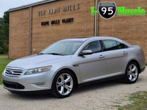 2010 Ford Taurus for sale at I-95 Muscle in Hope Mills NC