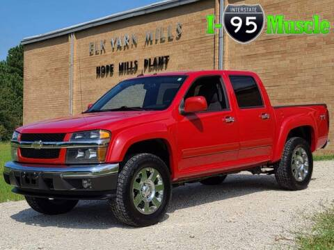 2012 Chevrolet Colorado for sale at I-95 Muscle in Hope Mills NC