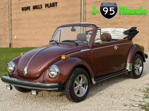 1978 Volkswagen Super Beetle for sale at I-95 Muscle in Hope Mills NC