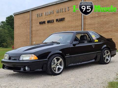 1989 Ford Mustang for sale at I-95 Muscle in Hope Mills NC