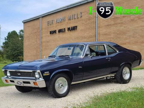 1972 Chevrolet Nova for sale at I-95 Muscle in Hope Mills NC