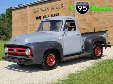 1953 Ford F-100 for sale at I-95 Muscle in Hope Mills NC