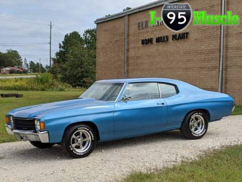 1972 Chevrolet Chevelle for sale at I-95 Muscle in Hope Mills NC