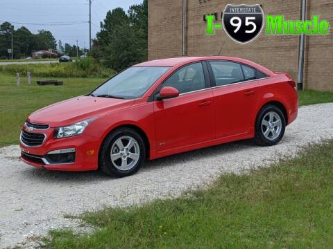 2015 Chevrolet Cruze for sale at I-95 Muscle in Hope Mills NC