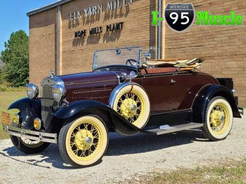1930 Ford Model A for sale at I-95 Muscle in Hope Mills NC