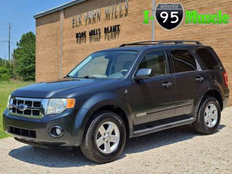 2008 Ford Escape Hybrid for sale at I-95 Muscle in Hope Mills NC