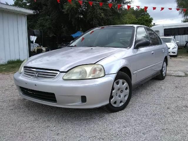 2000 Honda Civic For Sale At Quality Motors In San Antonio TX