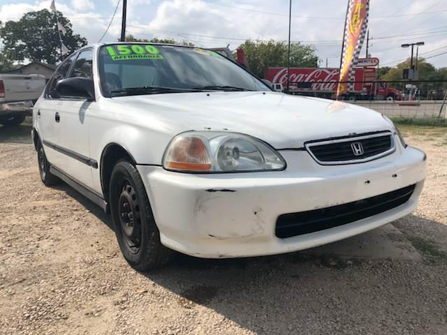 1998 Honda Civic For Sale At Quality Motors In San Antonio TX