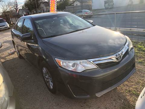 2012 Toyota Camry For Sale At Quality Motors In San Antonio TX