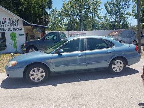 2005 Ford Taurus for sale at Area 41 Auto Sales & Finance in Land O Lakes FL
