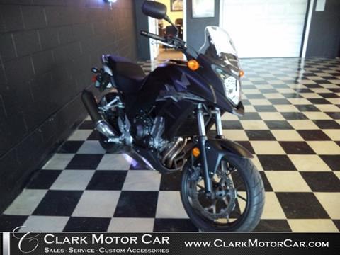 2013 Honda CB 500X for sale in Newark OH