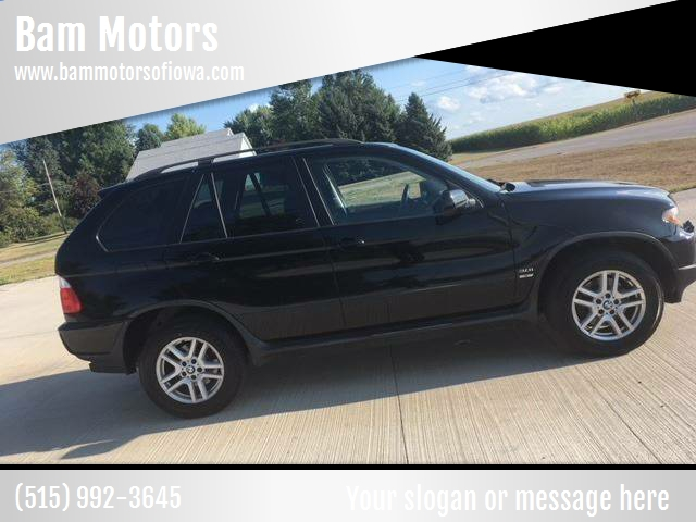 2006 BMW X5 for sale at Bam Motors in Dallas Center IA