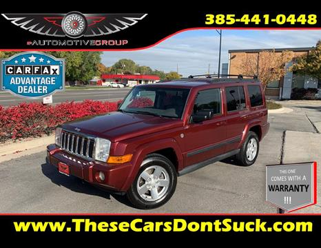 2007 Jeep Commander for sale in Sandy, UT