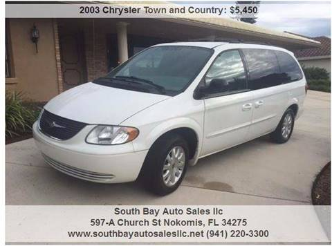 2003 Chrysler Town and Country for sale in Nokomis, FL