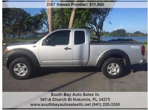 2007 Nissan Frontier for sale in Nokomis, FL
