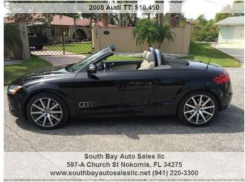 Audi Tt For Sale In Nokomis Fl South Bay Auto Sales Llc