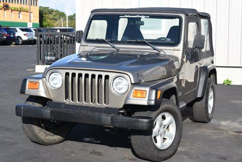 2002 Jeep Wrangler for sale in Morrisville, PA