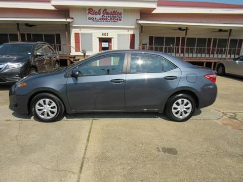 2017 Toyota Corolla for sale in Meridian, MS