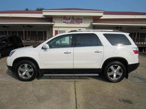 2011 GMC Acadia for sale in Meridian, MS