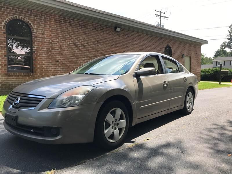 2007 Nissan Altima For Sale At Carpro Auto Sales In Norfolk VA