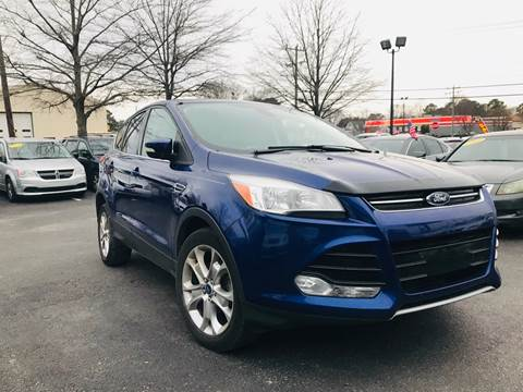 2013 Ford Escape for sale at Carpro Auto Sales in Chesapeake VA
