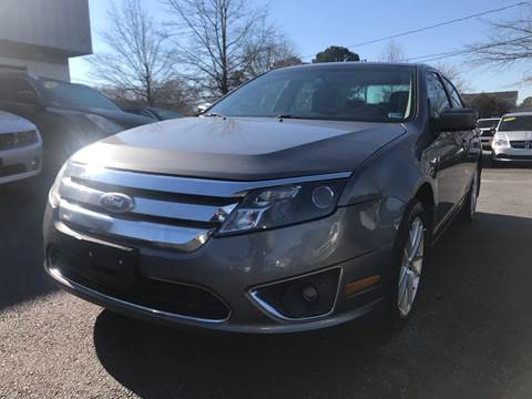 2010 Ford Fusion for sale at Carpro Auto Sales in Chesapeake VA