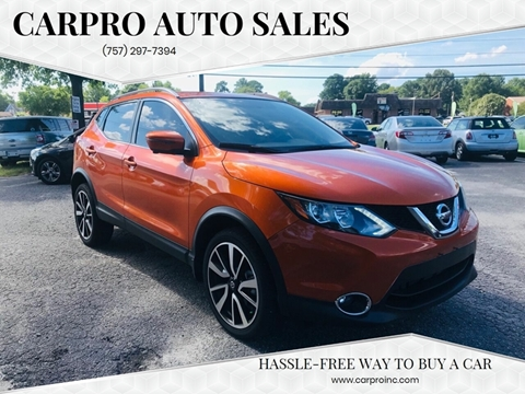 2017 Nissan Rogue Sport for sale in Chesapeake, VA