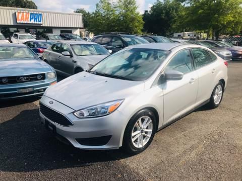 2015 Ford Focus for sale at Carpro Auto Sales in Chesapeake VA