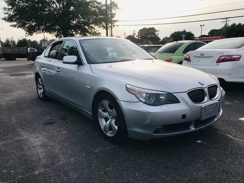 2007 BMW 5 Series for sale at Carpro Auto Sales in Chesapeake VA