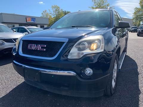 2012 GMC Acadia for sale at Carpro Auto Sales in Chesapeake VA