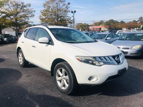 2009 Nissan Murano for sale at Carpro Auto Sales in Chesapeake VA