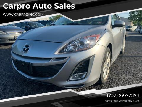 2010 Mazda MAZDA3 for sale at Carpro Auto Sales in Chesapeake VA