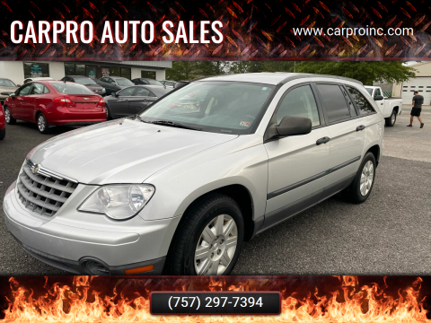 2007 Chrysler Pacifica for sale at Carpro Auto Sales in Chesapeake VA