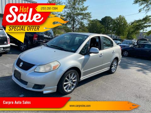 2009 Suzuki SX4 for sale at Carpro Auto Sales in Chesapeake VA