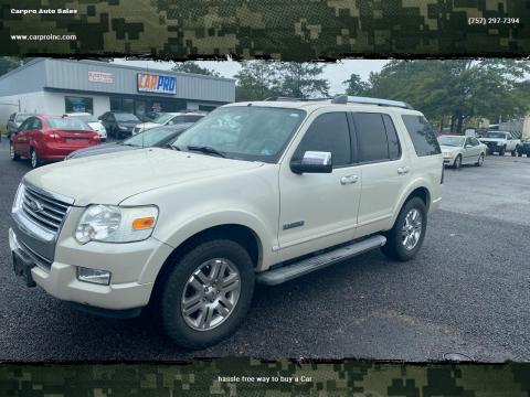2006 Ford Explorer for sale at Carpro Auto Sales in Chesapeake VA