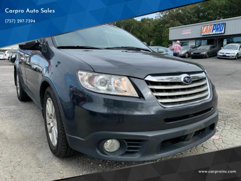 2008 Subaru Tribeca for sale at Carpro Auto Sales in Chesapeake VA