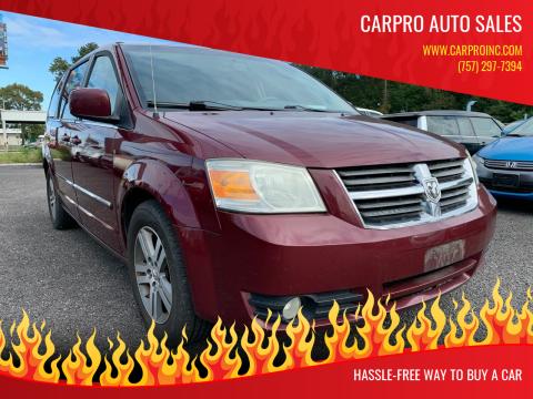 2009 Dodge Grand Caravan for sale at Carpro Auto Sales in Chesapeake VA