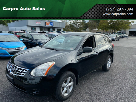 2010 Nissan Rogue for sale at Carpro Auto Sales in Chesapeake VA