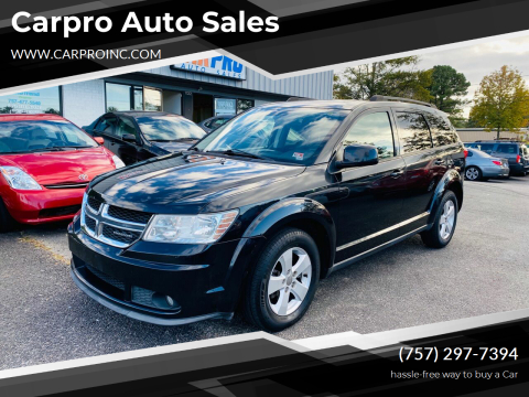 2011 Dodge Journey for sale at Carpro Auto Sales in Chesapeake VA