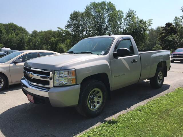 2008 Chevrolet Silverado 1500 for sale at DRINKWATER'S AUTO SALES & SERVICE in Milford ME