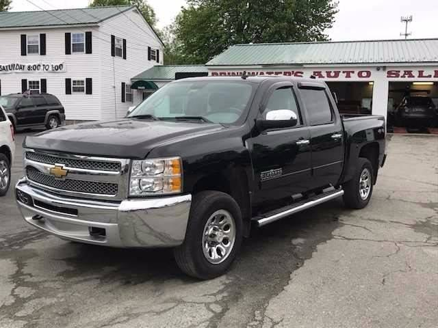 2013 Chevrolet Silverado 1500 for sale at DRINKWATER'S AUTO SALES & SERVICE in Milford ME