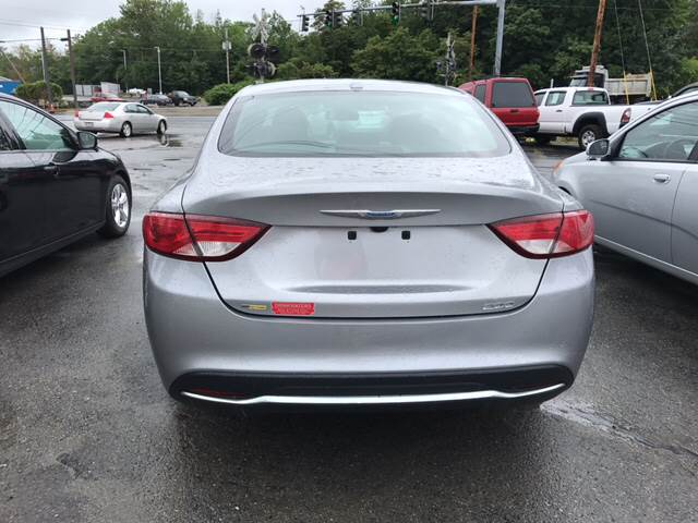 2015 Chrysler 200 for sale at DRINKWATER'S AUTO SALES & SERVICE in Milford ME