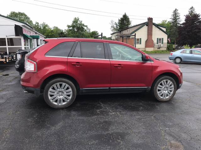 2009 Ford Edge for sale at DRINKWATER'S AUTO SALES & SERVICE in Milford ME