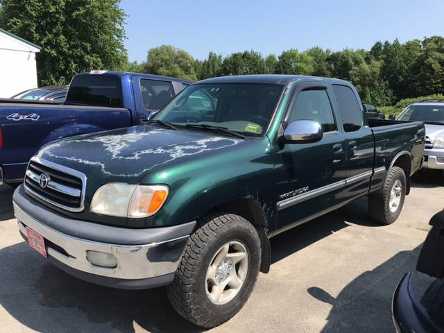 2000 Toyota Tundra for sale at DRINKWATER'S AUTO SALES & SERVICE in Milford ME