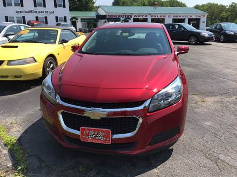 2014 Chevrolet Malibu for sale at DRINKWATER'S AUTO SALES & SERVICE in Milford ME