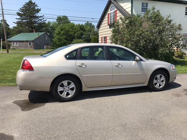 2012 Chevrolet Impala for sale at DRINKWATER'S AUTO SALES & SERVICE in Milford ME