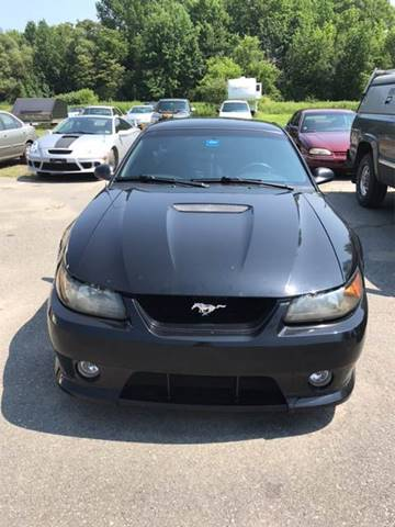 2000 Ford Mustang for sale at DRINKWATER'S AUTO SALES & SERVICE in Milford ME