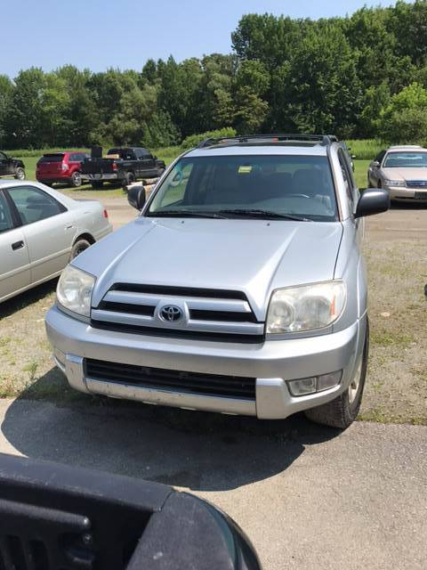 2004 Toyota 4Runner for sale at DRINKWATER'S AUTO SALES & SERVICE in Milford ME