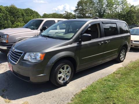 2010 Chrysler Town and Country for sale at DRINKWATER'S AUTO SALES & SERVICE in Milford ME